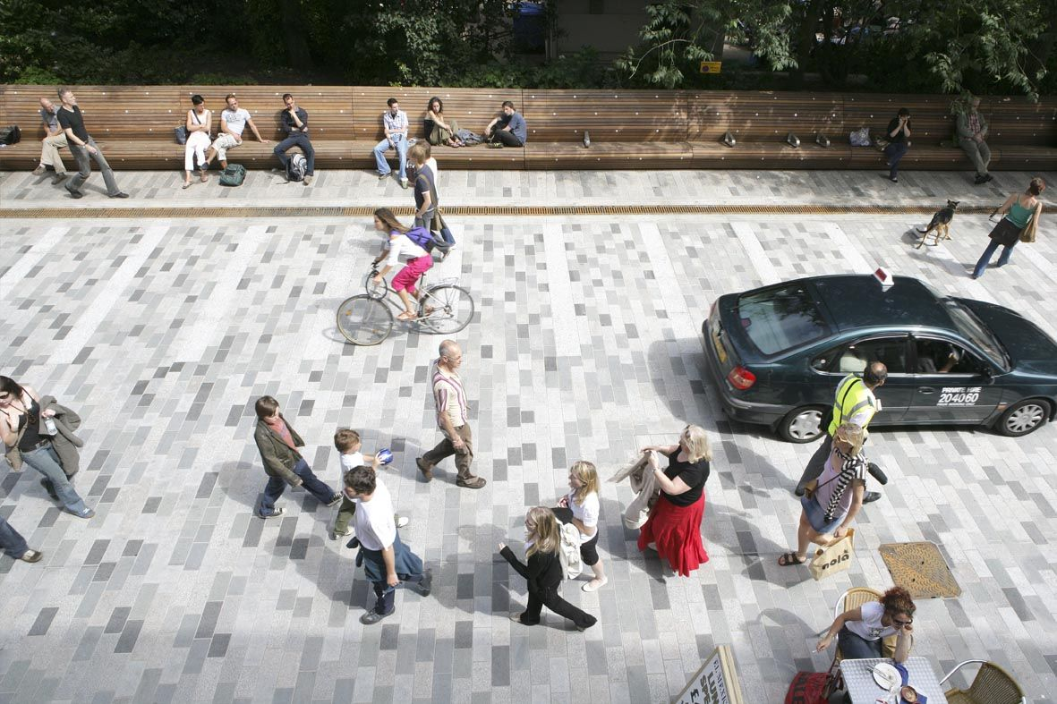 This is what all streets should look like shared space for Shared space design
