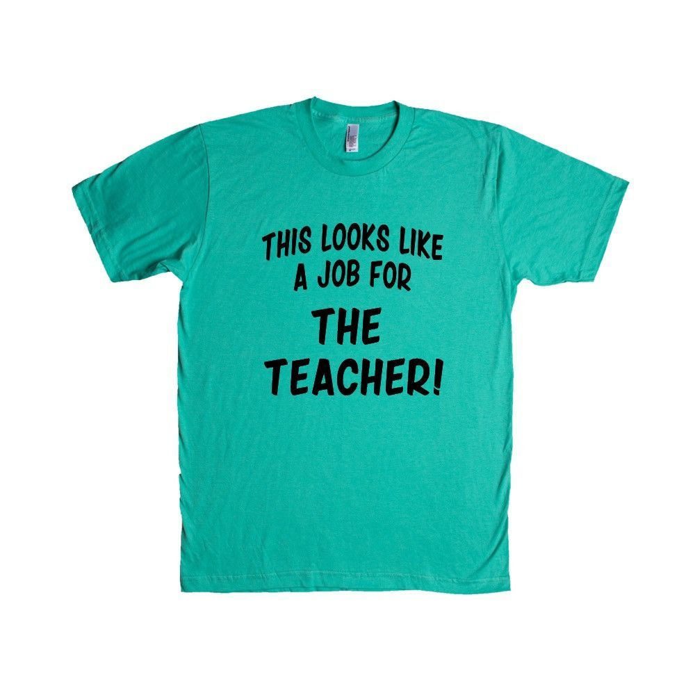 This Looks Like A Job For The Teacher Super Hero Comic