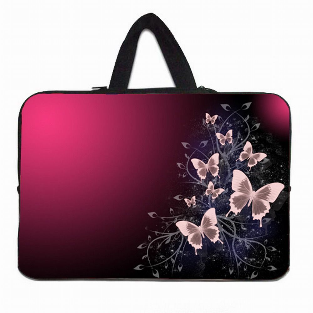 """Neoprene 14/"""" Inch Laptop Sleeve Carry Bag Case For 14.1/"""" Toshiba Lenovo 14.2/"""" HP"""