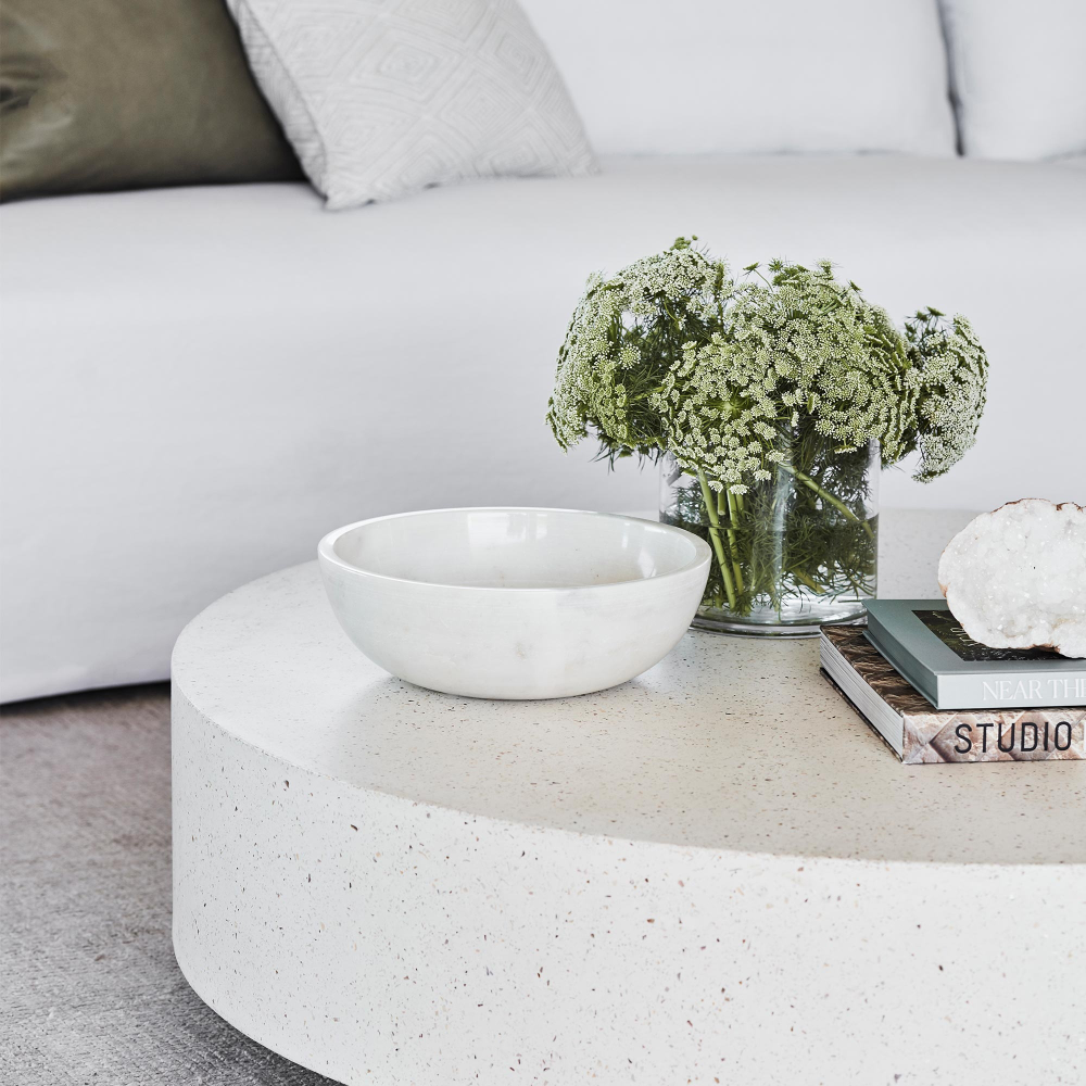 Monaco Round Concrete Coffee Table Concrete Coffee Table Minimalist Coffee Table Coffee Table [ 1000 x 1000 Pixel ]