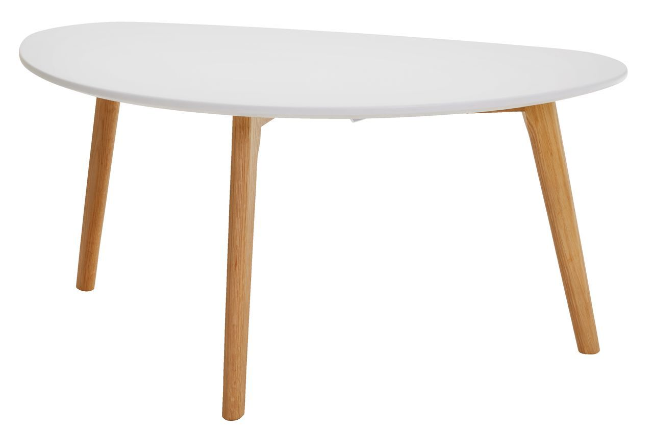 White Oak Salontafel.Salontafel Lejre 48x85 Wit Eiken Living Room Table White Oak