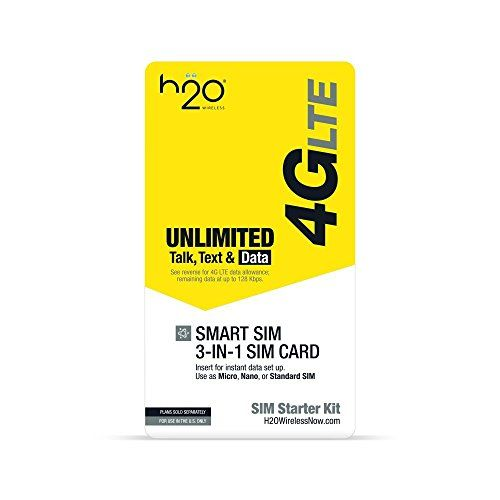 H2o 3in1 Sim Card 3 Pack Continue To The Product At The Image