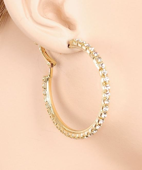 Gold Hoop Earrings Price $7 00 Image Makers Jewelry