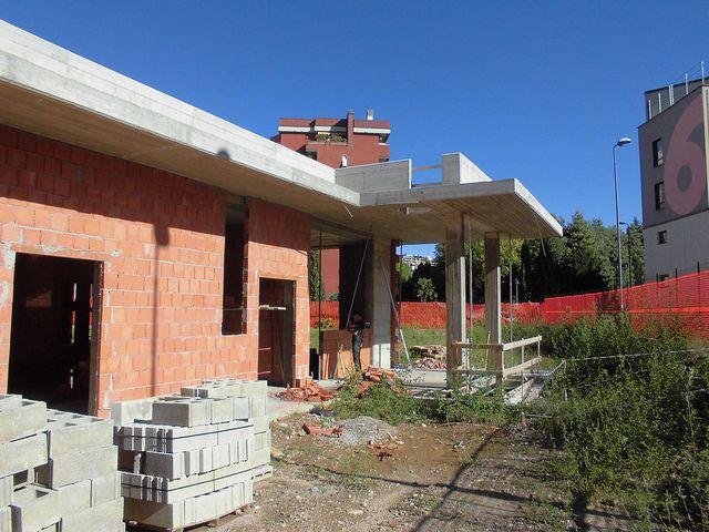 Casa da Sogno Entrance, Pergola, Kindergarten