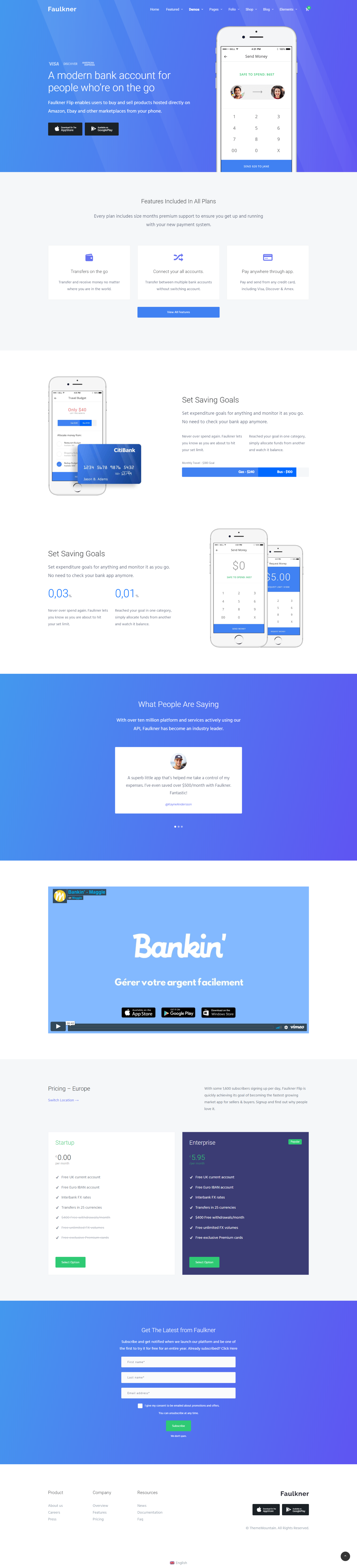 Top 10 Modern Stylish Trendy Wordpress Themes For A New Startup Company Modern Wordpress Themes Startup Design Blogging Guidelines
