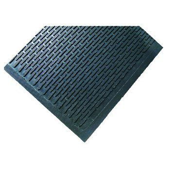 Crown Tred Indoor Outdoor Scraper Mat Rubber 44 1 2 X 67 3 4 Black By Crown 190 61 Excellent Anti Skid Surface Ideal For Heavy Traffic Areas Gripper Bac