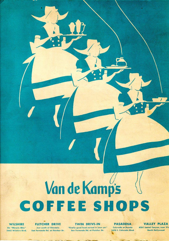 Van de Kamp's Coffee Shops June 8, 1957 | Menu Collection