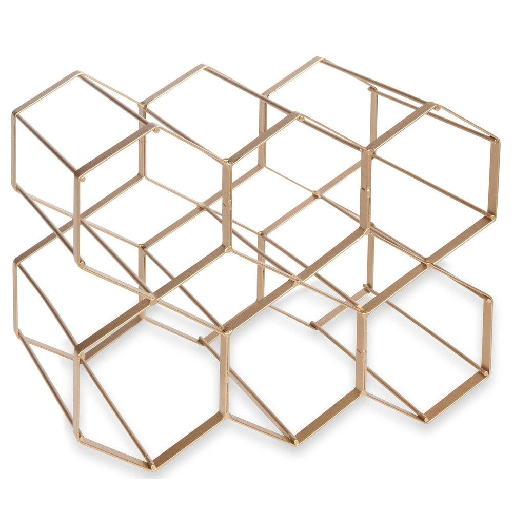 metalen flessenrek urban maisons du monde interieur pinterest interieur. Black Bedroom Furniture Sets. Home Design Ideas