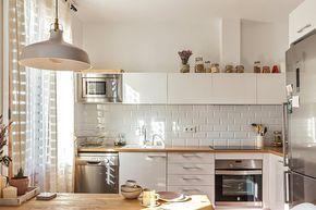 Deco Kinfolk A Barcelone Cuisines Deco Cuisine Appartement Et Amenagement Cuisine