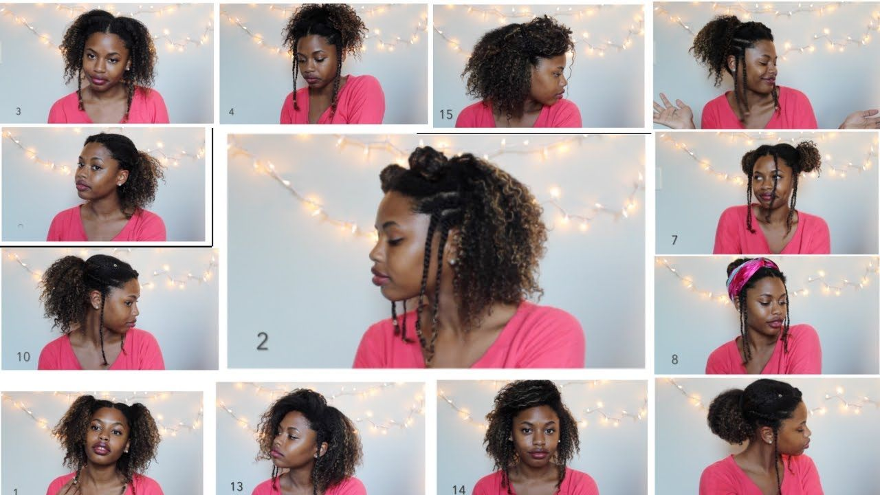 15 Back To School Natural Hairstyles College High School 3a 3b 3c 4a Natural Hair Styles Natural Afro Hairstyles 3c Natural Hair