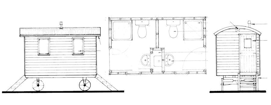 A shower hut framing pinterest shepherds hut for A frame hut plans