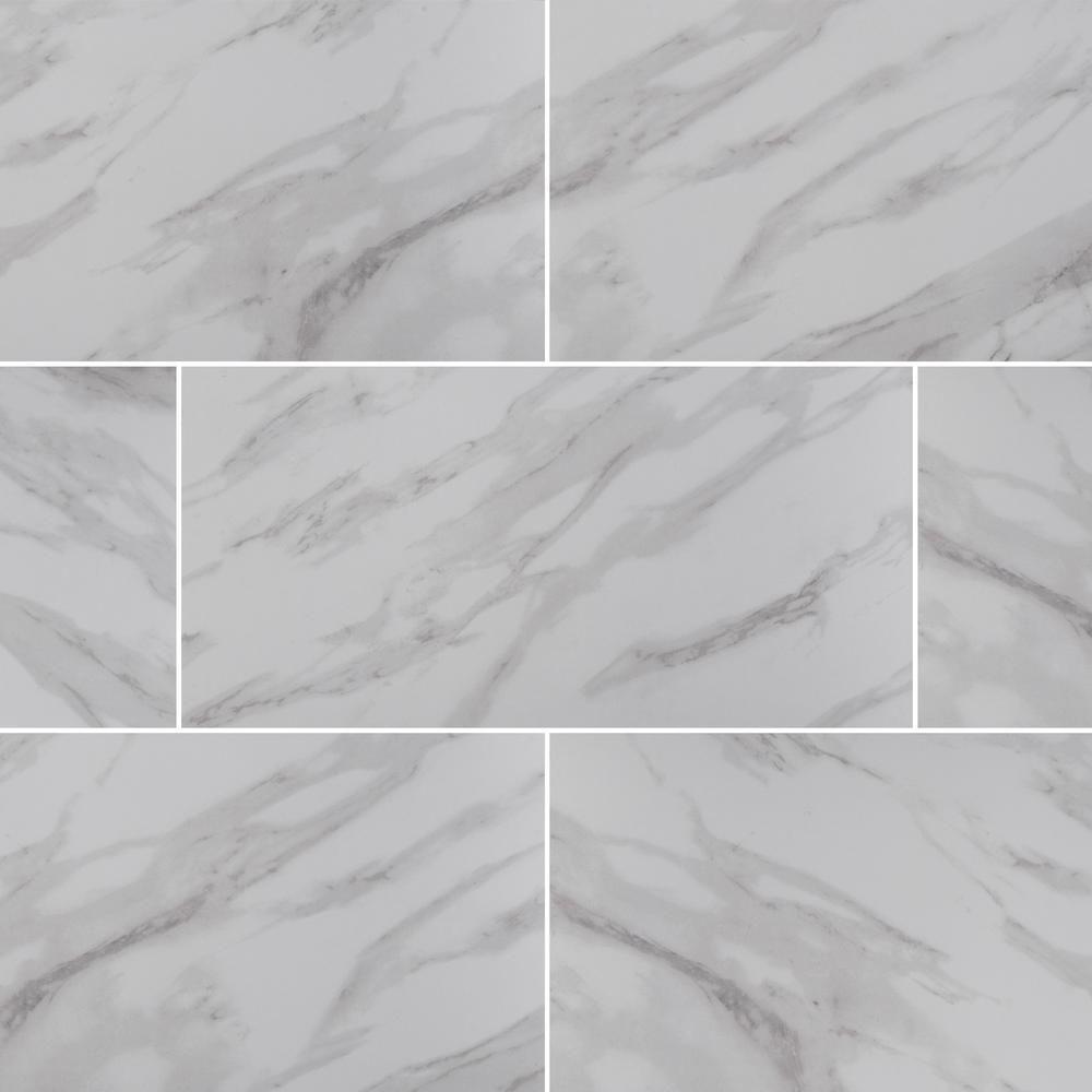 Atrium Kios Gris Glazed Porcelain Floor Tile: MSI Aspen Gris 12 In. X 24 In. Glazed Ceramic Floor And