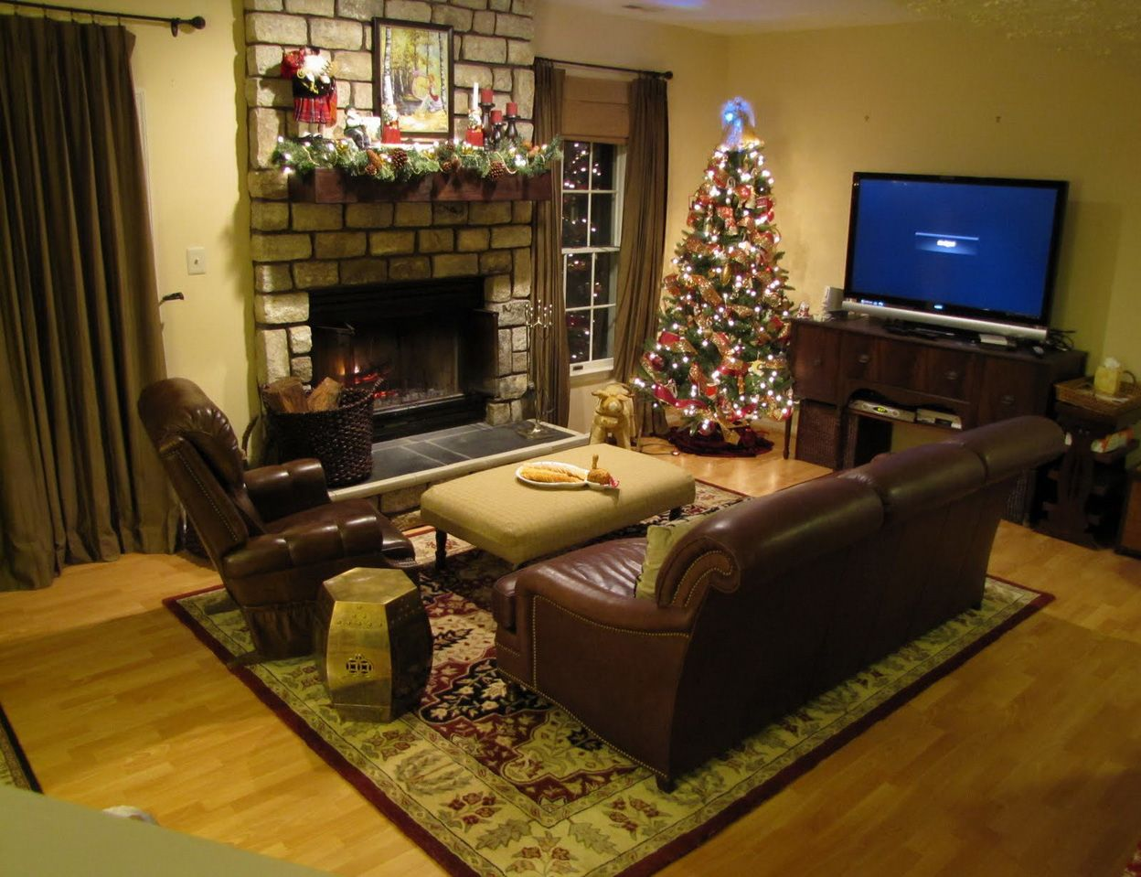 Small Family Room Basement Decor Ideas
