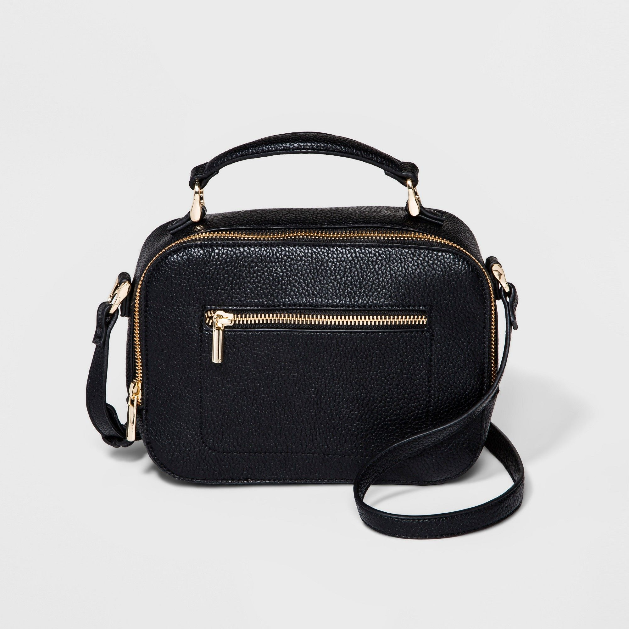 59ef014409 Top Handle Camera Crossbody Bag - A New Day Black, Women's, Size: Small