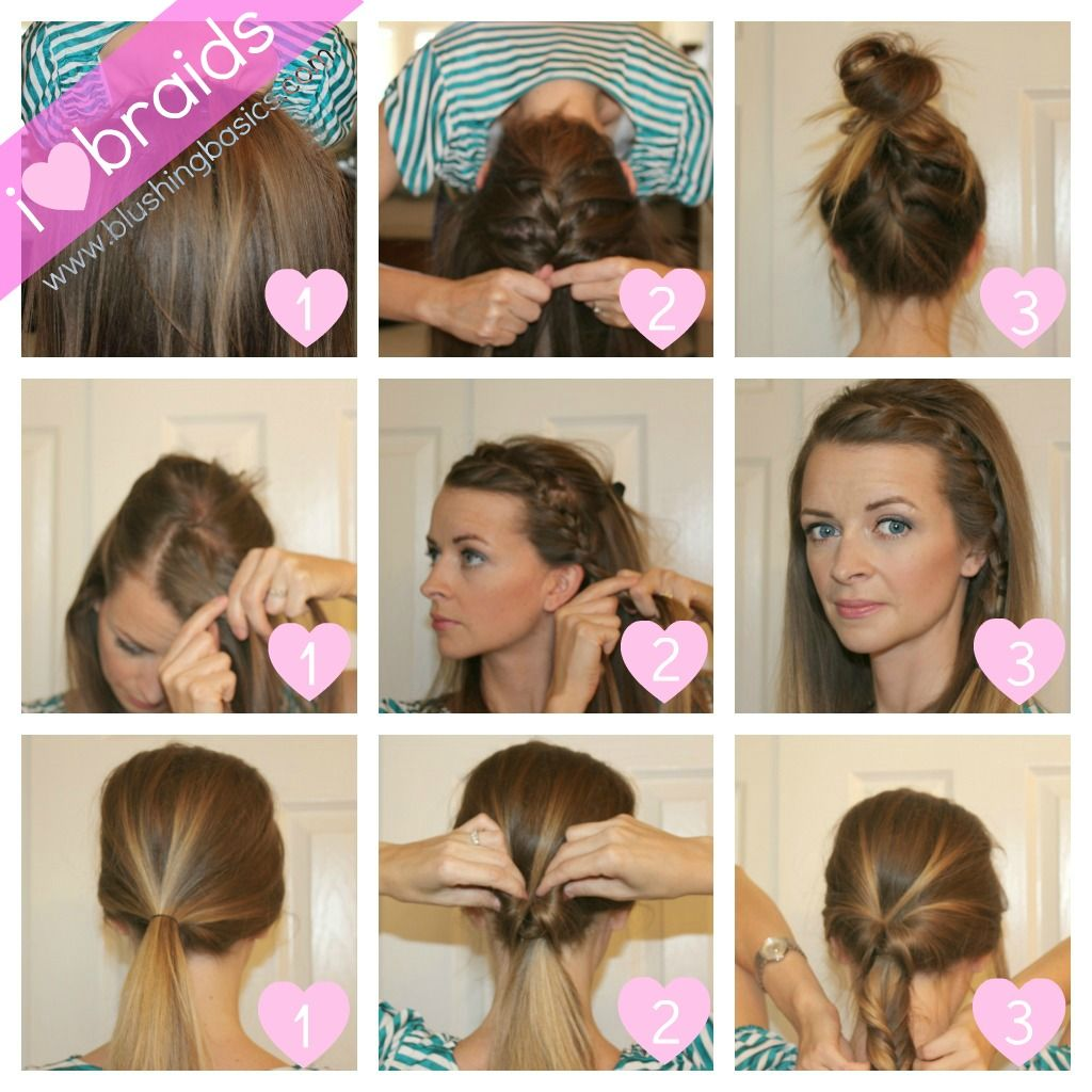 cute braids on a daily day and super simple to master | braid tips