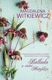 Ballada O Ciotce Matyldzie Place Card Holders Book Cover Magdalena