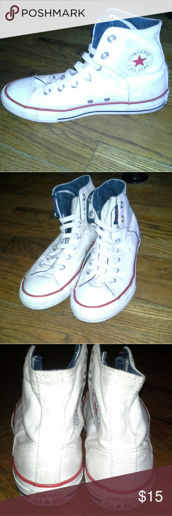 bbc724a140fa CLOSET CLOSING Converse 4 Youth 6 Women +Great used condition +All Star  high tops +Normal wear (some marks