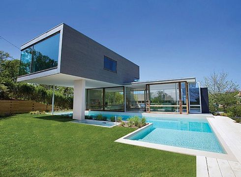 L 39 architecture qui secoue les neurones long island for Architecture des villas modernes