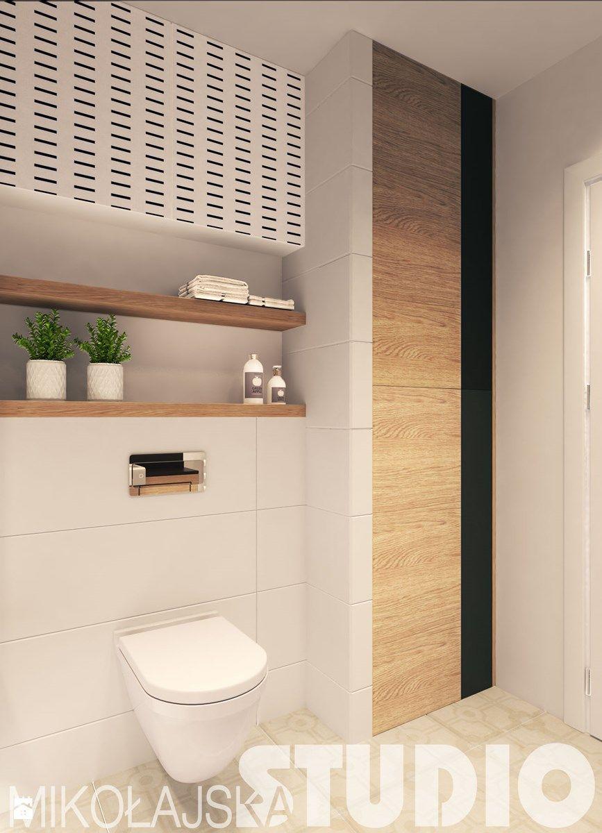 Salle De Bain Toilettes ~ prosta stylowa azienka azienka zdj cie od miko ajskastudio