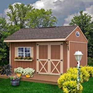 Best Barns Northwood 10 Ft X 14 Ft Wood Storage Shed Kit With Floor Including 4 X 4 Runners Northwood 1014df The Home Depot Building A Shed Storage Shed Kits Outdoor Sheds