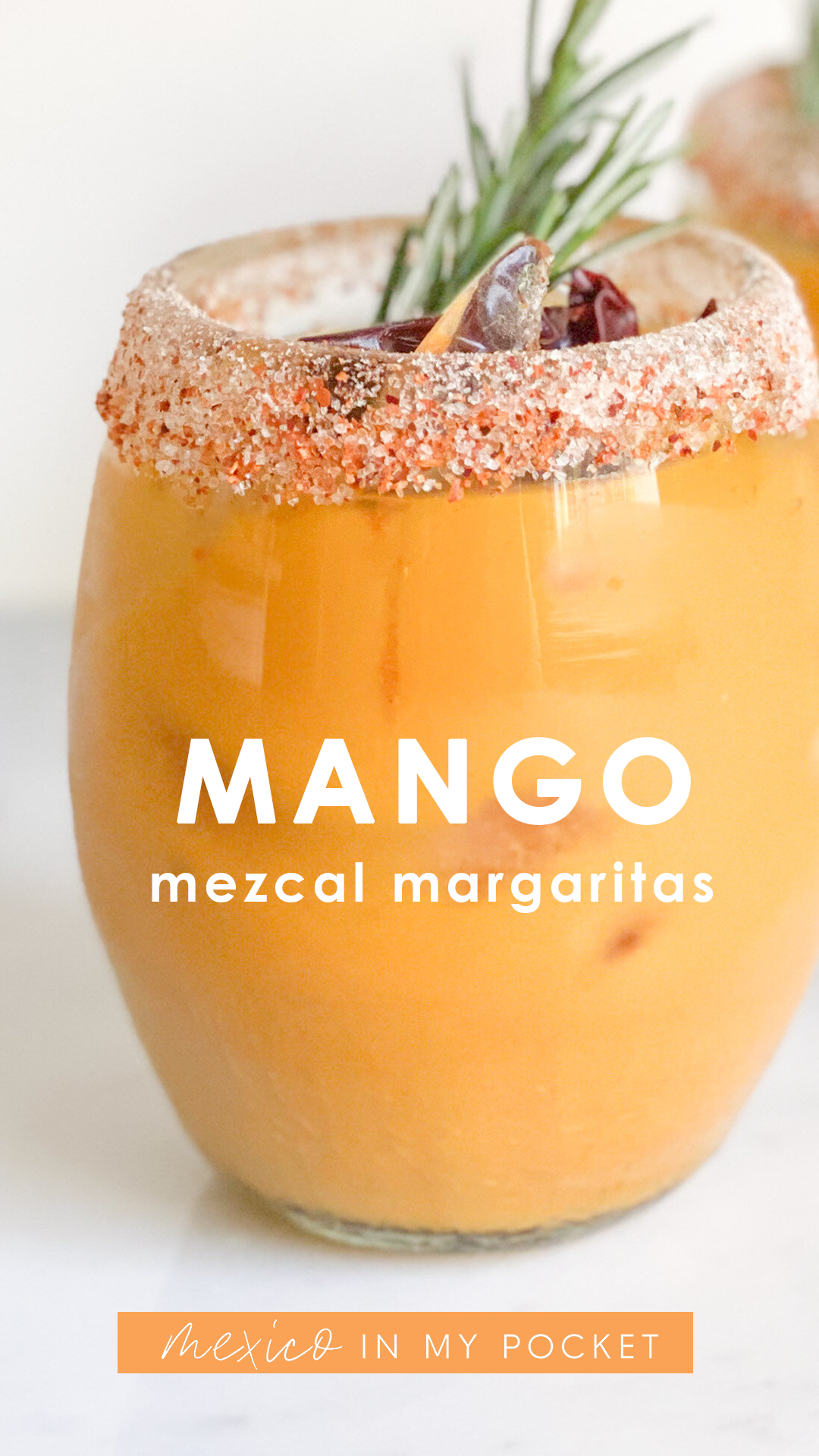 Photo of Mango Mezcal Margaritas