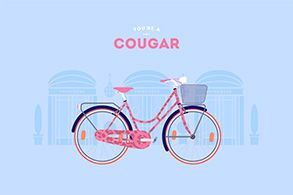 Cougar poster from Cyclemon