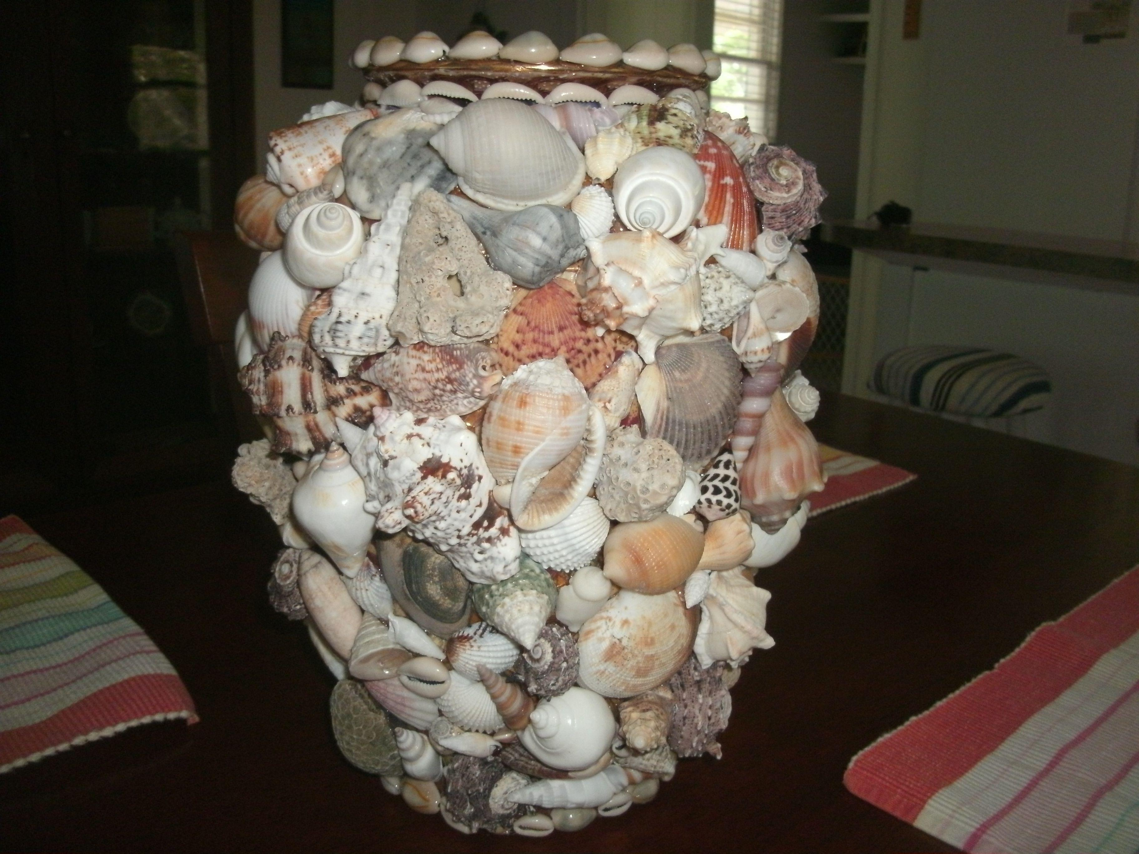Seashell vase handcrafted seashell mirrors and seashell boxes seashell vase reviewsmspy
