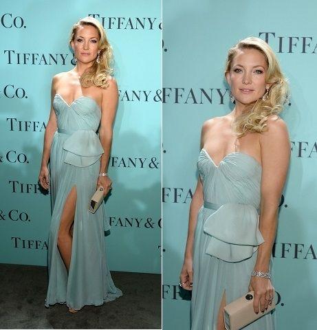 Tiffany & Co. Blue Book Ball 2013 - Kate Hudson wearing Reem Acra