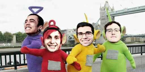 Out With The Old  and teletubbies