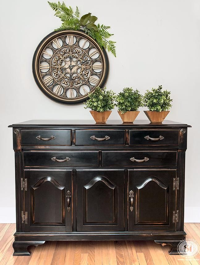 Pottery Barn Knock Off Black Buffet General Finishes Design Center