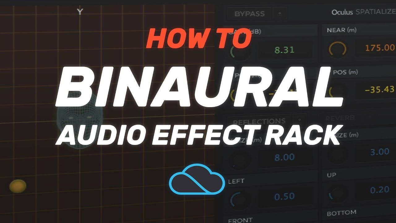 Binaural Audio Effect Rack [free download] #ableton #music