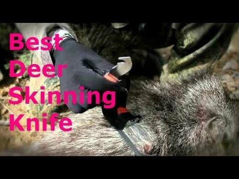 Best Deer Skinning Knife 2016