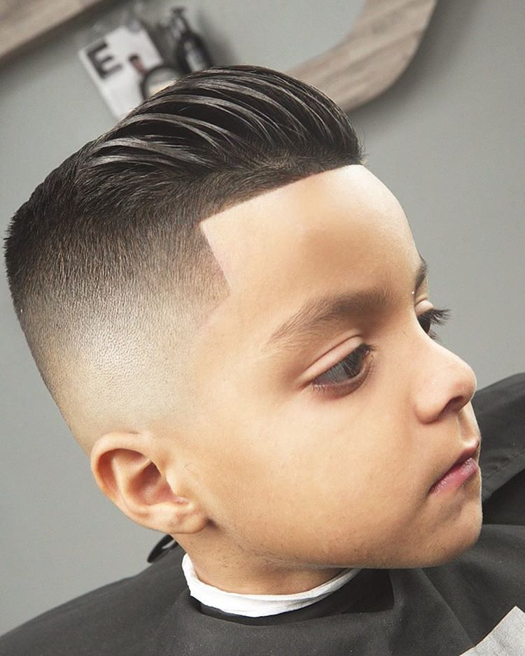 slick short hair pomp styles