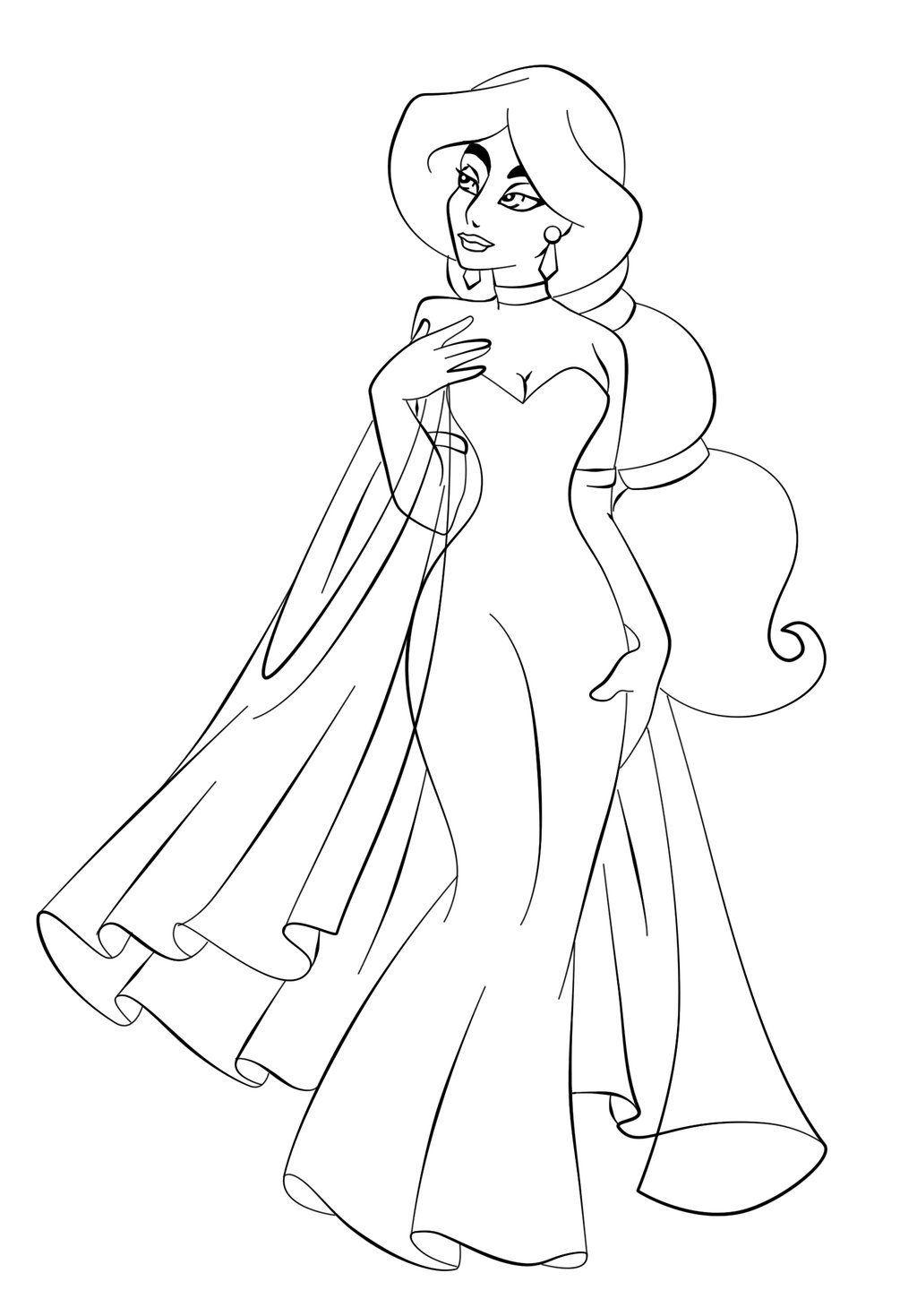 Jasmine In Wedding Dress Disney Princess Coloring Pages Full Size Image Princess Coloring Pages Disney Princess Coloring Pages Disney Princess Colors