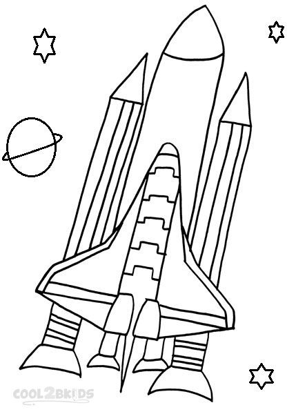 Spaceship Coloring Pages Printable Spaceship Space Coloring