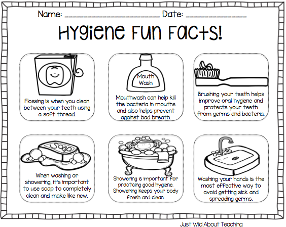 All About Hygiene Health Pack Hygiene Lessons Personal Hygiene Worksheets Personal Hygiene