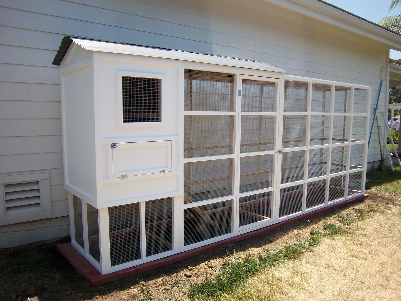 Cottage Custom Chicken Coop For Sale San Bernardino Inland Empire Cottage Backyard Chicken Coops Chicken Coop
