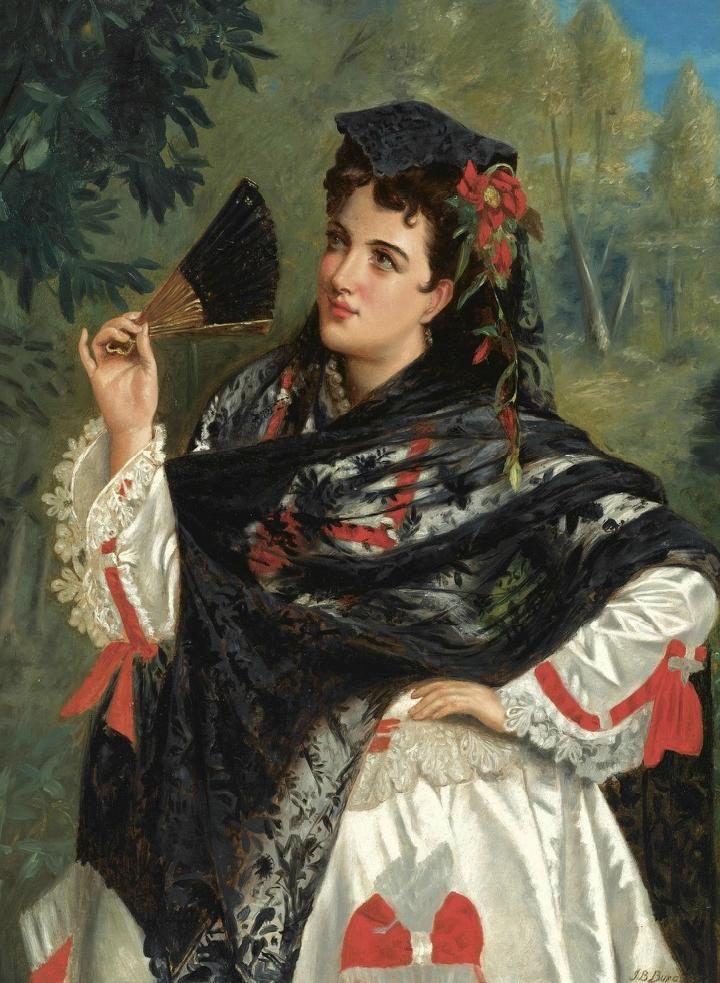John Bagnold Burgess - A Spanish Beauty #5
