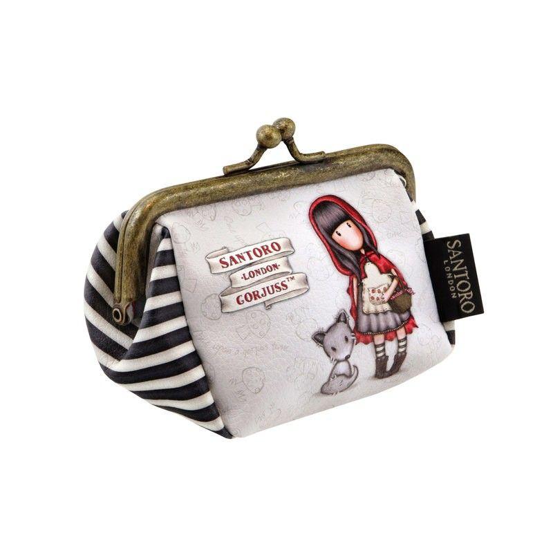 6c978fa7f12 Kapcsos aprópénztárca- Gorjuss- Little Red Riding Hood