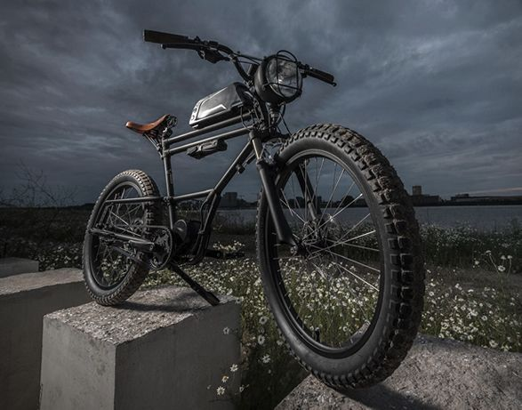 31095b435b669f This awesome E-Bike is inspired by a scrambler motorcycle! Built by Dutch  custom bicycle workshop Timmermans Fietsen