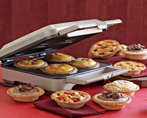 Breville Pie Maker - could definitely make them vegan.