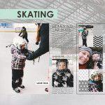 Skating   A Sahlin Studio Layout