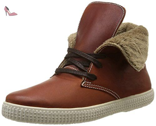106786, Desert boots mixte adulte, Marron (Cuero), 38 EUVictoria