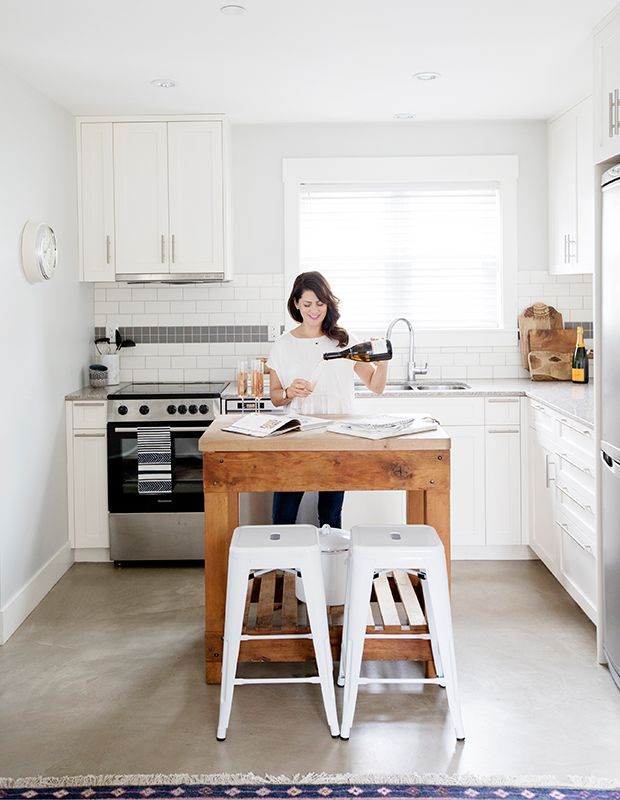 Inside Jillian Harris's Charming Vancouver Piedàterre  Spaces Classy Kitchen Designer Vancouver Review