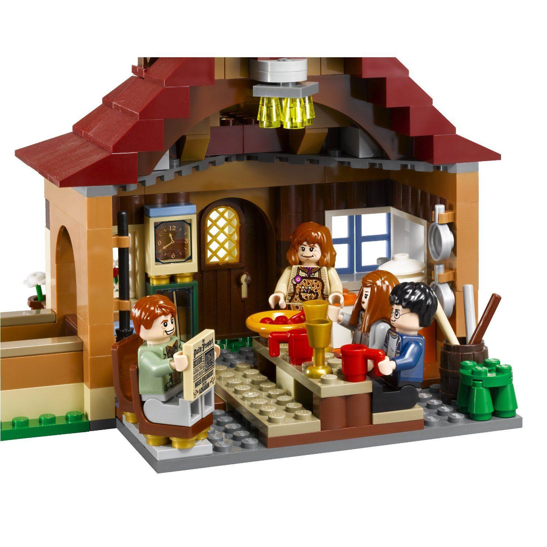 Lego Harry Potter The Burrows Lego Harry Potter Moc Lego Harry Potter Harry Potter Lego Sets