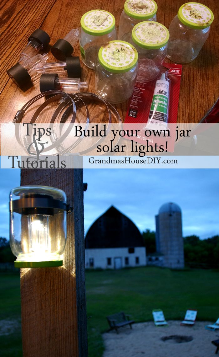 Mason Jar Solar Lights For My Back Deck Awesome Tips