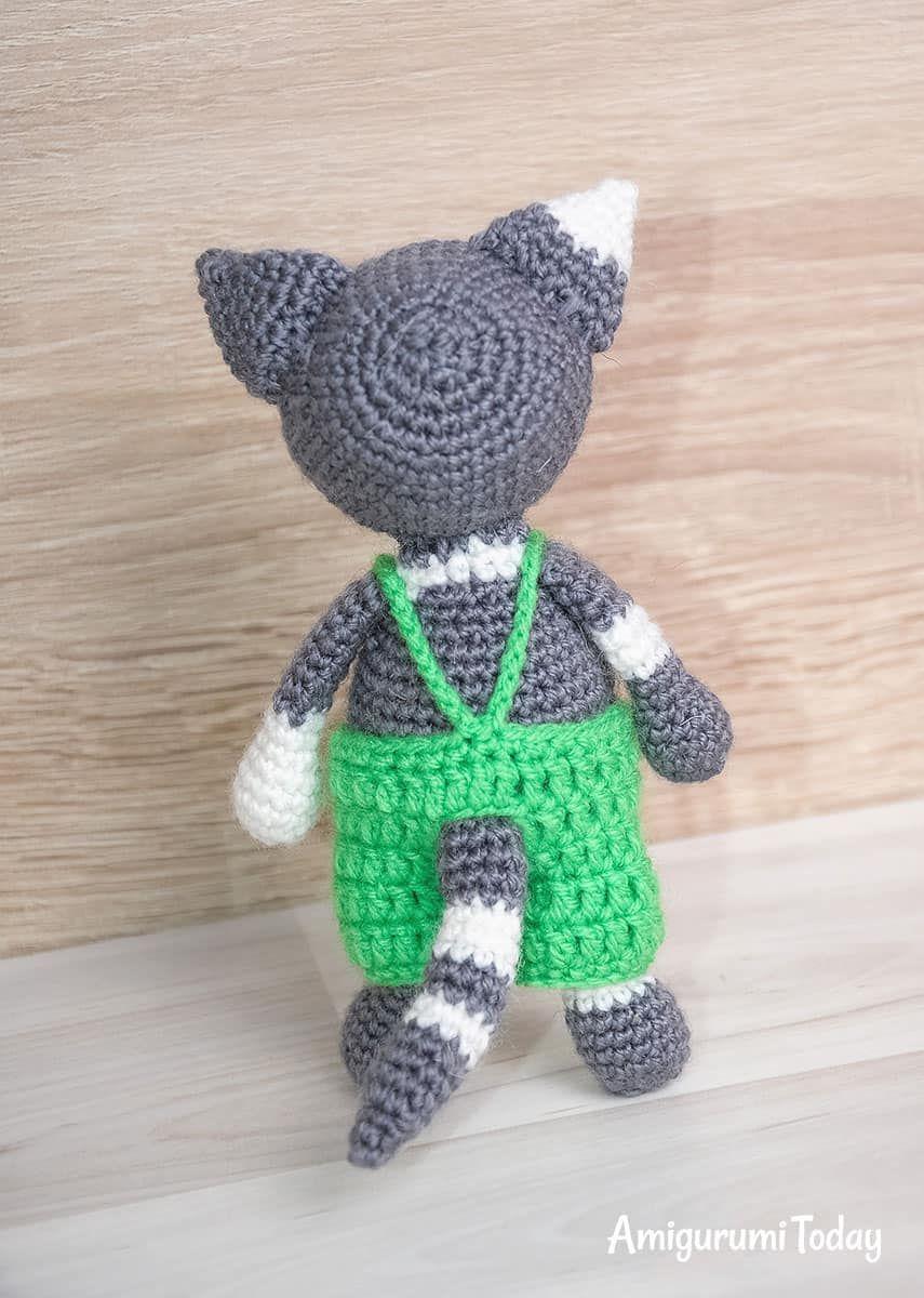 Toby The Cat Amigurumi Pattern Cat Amigurumi Crochet Patterns