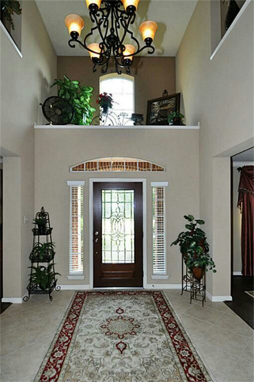 Foyer Decorate A High Ledge In A Front Foyer Z Ledge Decor Alcove Decor Foyer Decorating