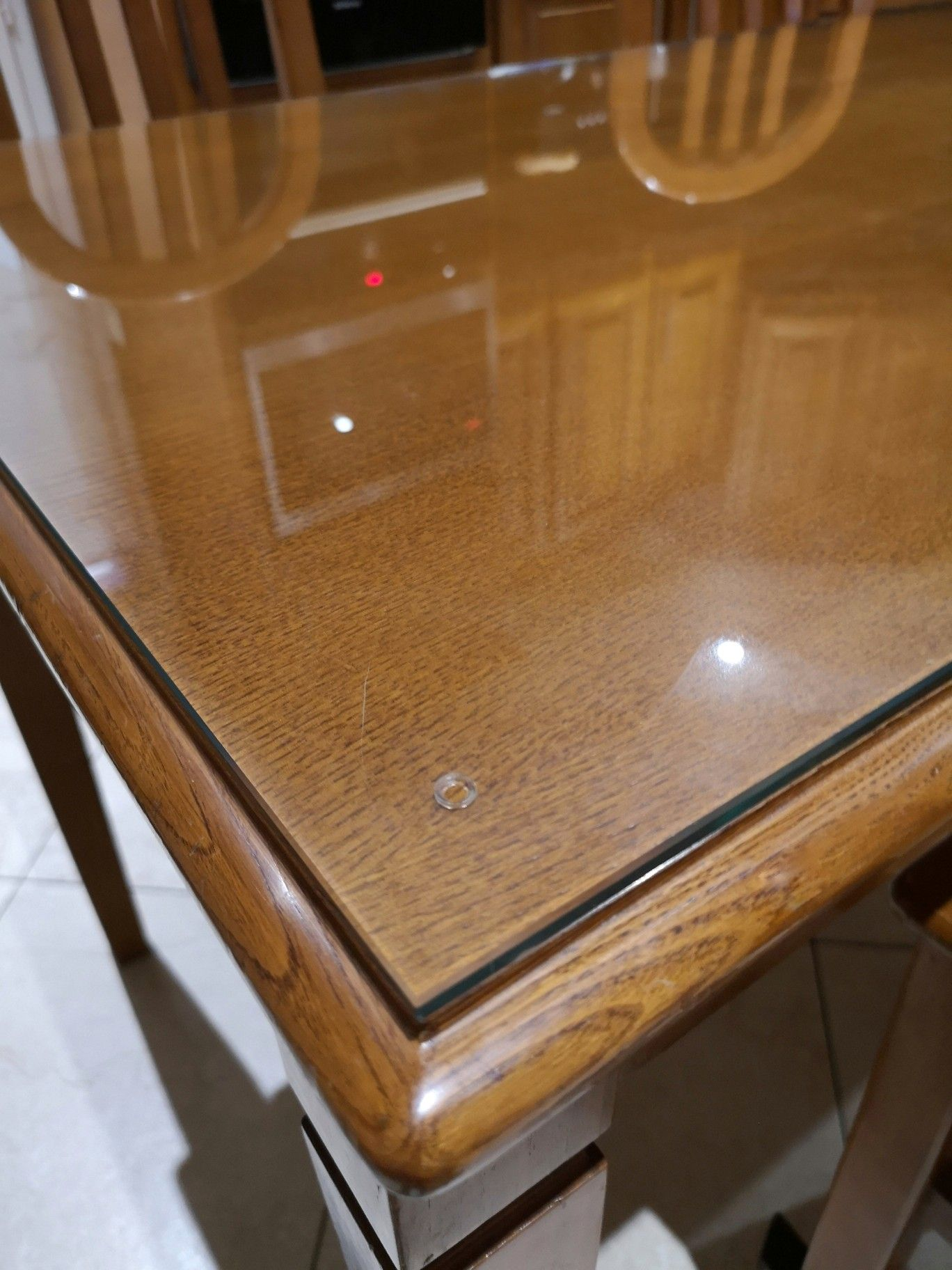 Protection De Table En Verre Trempe Meubles En Verre Paroi De Douche Table En Verre