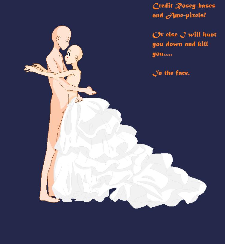 Base 82 :Wedding Dress: By Rosey-Bases.deviantart.com On